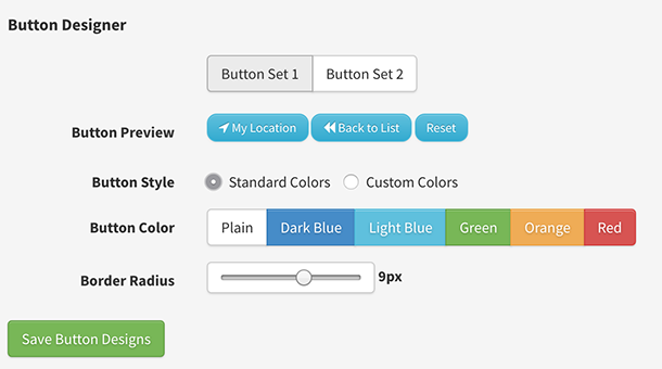 New Styling and Button Designer released
